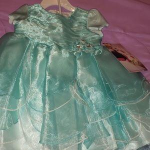 Beautiful Teal babygirl Dress